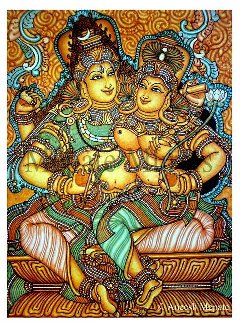 59 best images about mural painting on pinterest key for Asha mural painting guruvayur