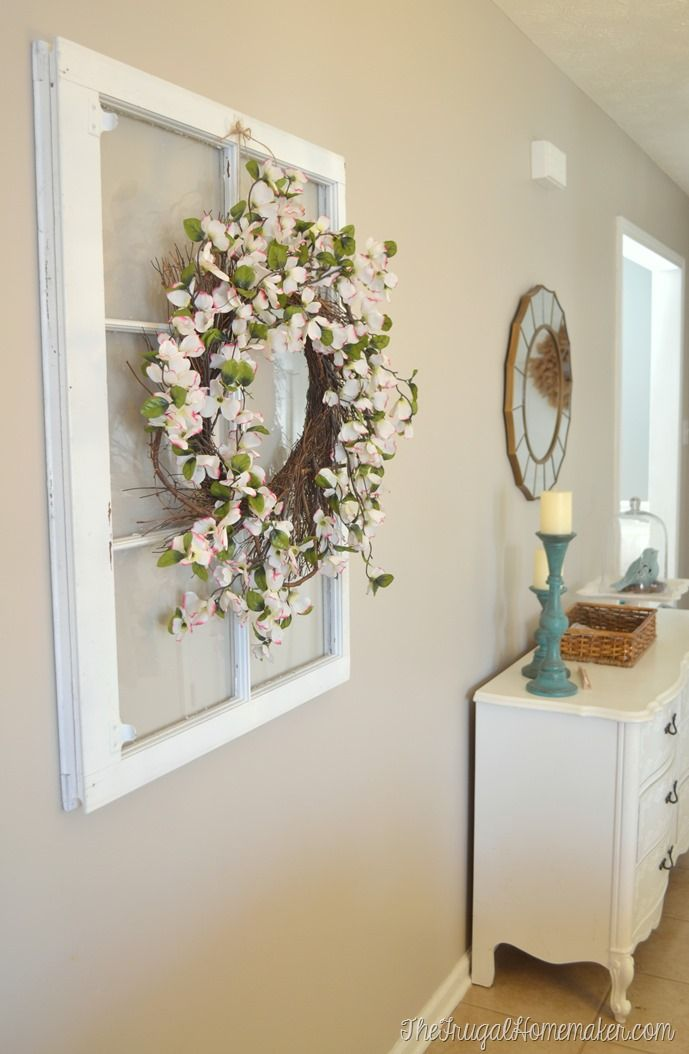 Hang Large Items On The Wall With No Tools And Drywall Anchor Holes To Patch
