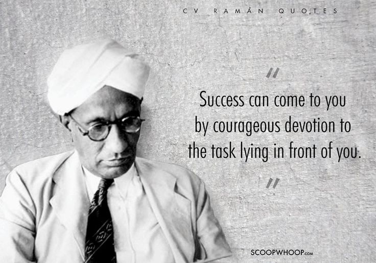 Image result for quotes of cv raman