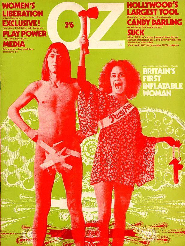 OZ Magazine covers - Melt