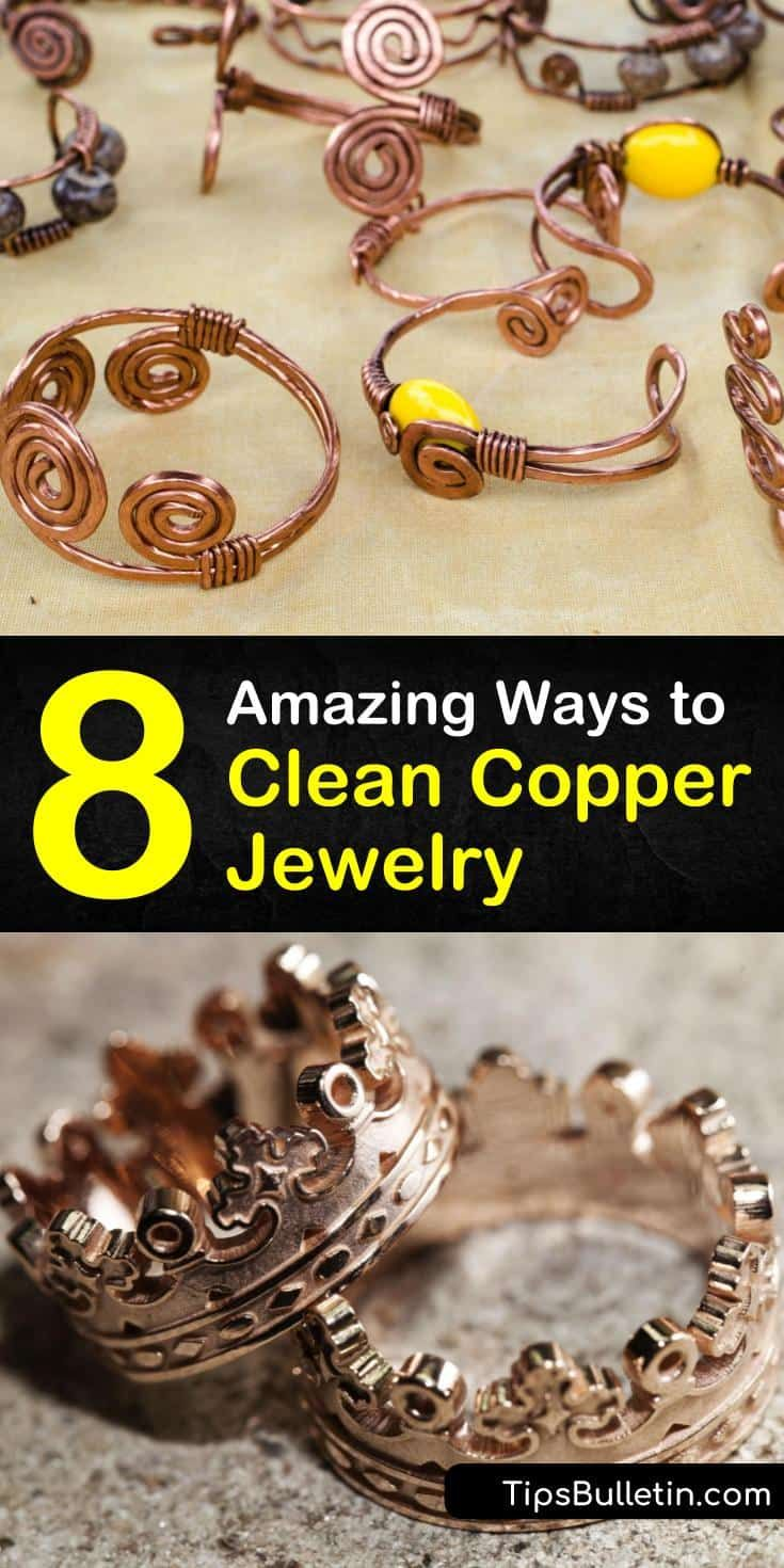 8 Amazing Ways to Clean Copper Jewelry How to clean