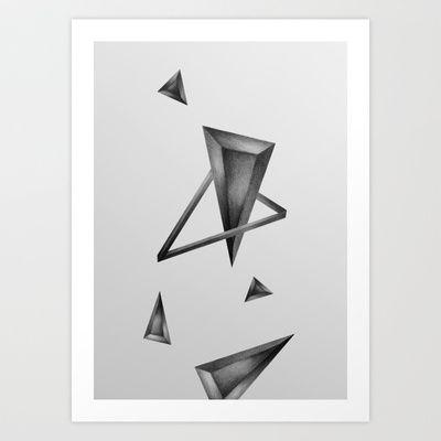 Geometric Art Print by Klaff Design - $17.00