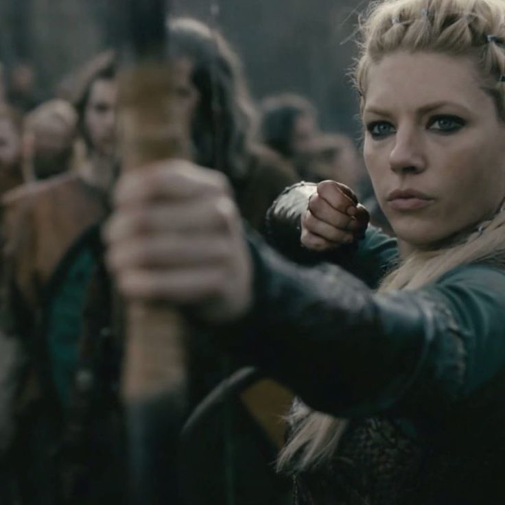 Lagertha finally taking out the trash