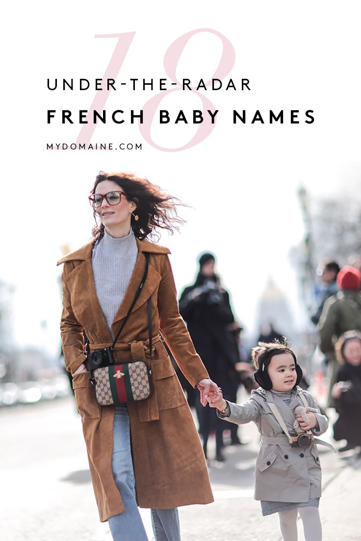 The chicest French baby names you've ever heard