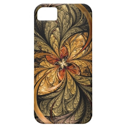 Metalic, shining leaves with the colors of Autumn. #iPhone #fractal #abstract #art $42.30