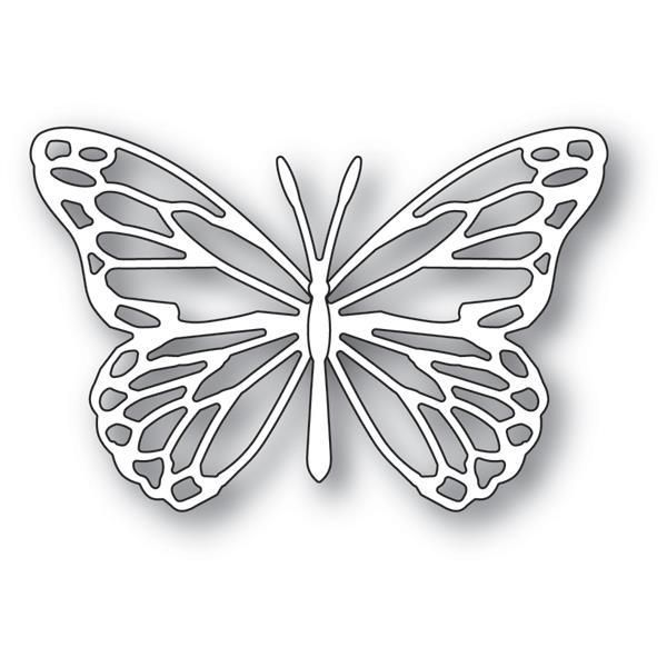Sensational Butterfly Collage metal die cut Memory Box cutting dies 99960