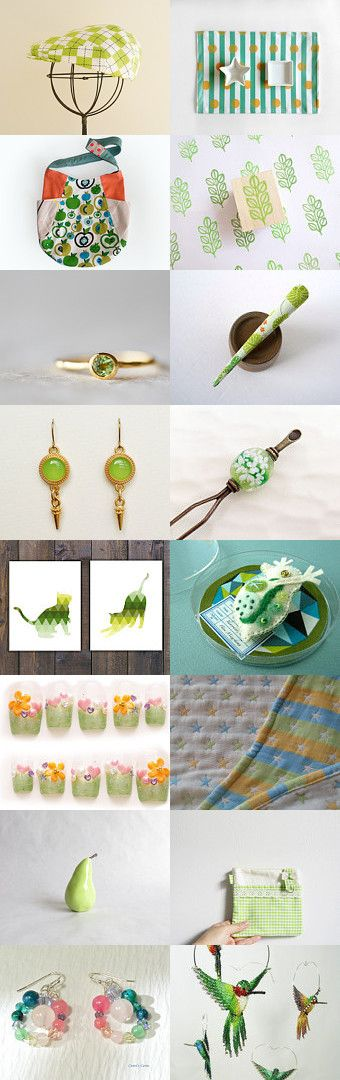 Lime by Kanae  (Tenten) on Etsy--Pinned with TreasuryPin.com