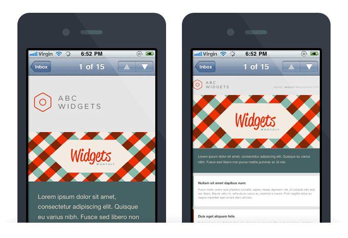 Responsive Email Design | Campaign Monitor @ http://www.campaignmonitor.com/guides/mobile/design/