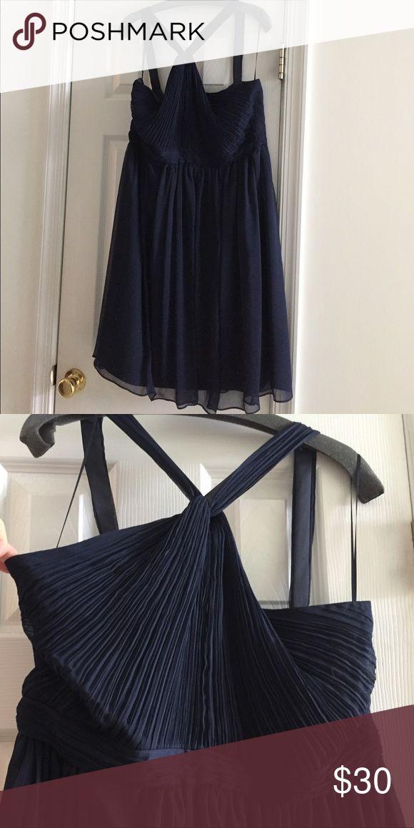 Selling this Navy J Crew bridesmaids dress! on Poshmark! My username is: moomiller4. #shopmycloset #poshmark #fashion #shopping #style #forsale #J CREW #Dresses & Skirts