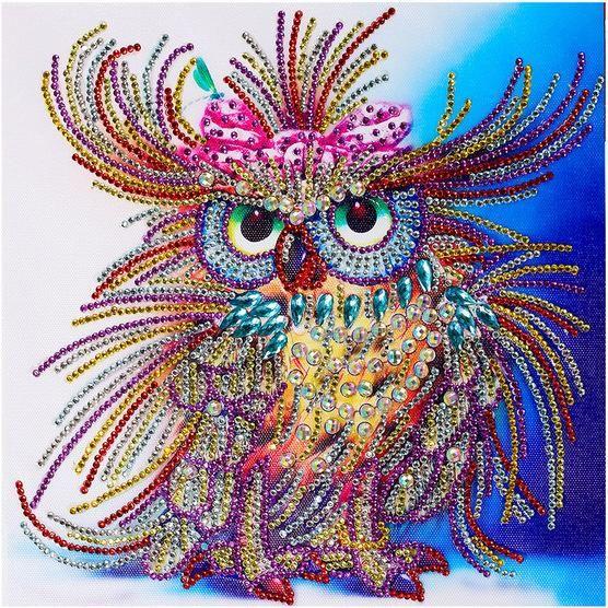 Royal Owl 5D™ Diamond Painting Kit Jenra Store