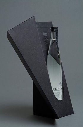 ♂ Package design CREVASSE water { http://pinterest.com/ecogentleman/pins/ }