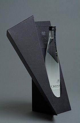 ♂ Package design CREVASSE water { http://pinterest.com/ecogentleman/pins/ }
