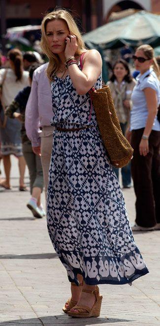Piper Perabo as Annie Walker rockin an ikat print dress by Cool Change  tv-fashion-piper-perabo-6-usa-325.jpg