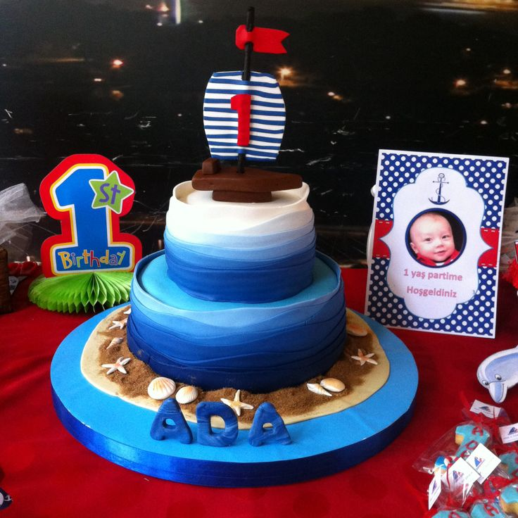 First Birthday Cake Images For Boy