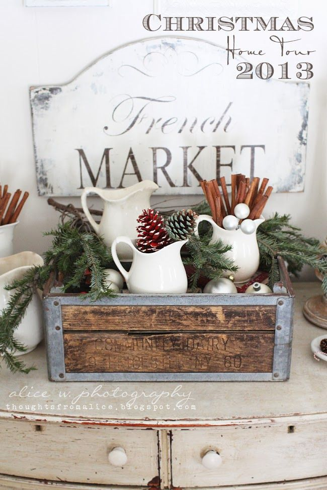 Make And Take Room In A Box Elizabeth Farm: 17 Best Ideas About French Christmas Decor On Pinterest