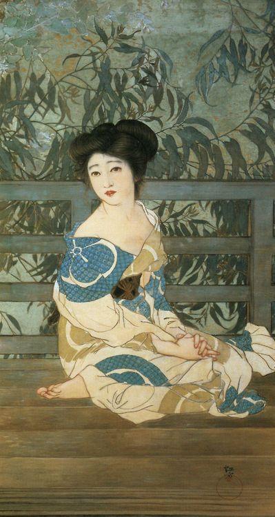 Kitano Tsunetomi 北野恒富 (1880-1947) 京都市美術館蔵