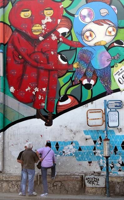 Street Art in Thiseio, Athens