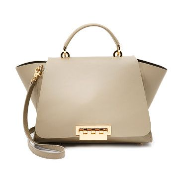 Eartha soft top handle bag by Zac Zac Posen. A structured ZAC Zac Posen handbag in smooth leather. Slim back pocket. The top flap fastens with...