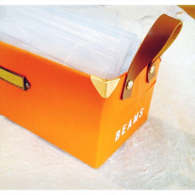 リメイク/小物入れ/紙袋のインテリア実例 - 2014-03-14 13:22:14 | RoomClip(ルームクリップ)