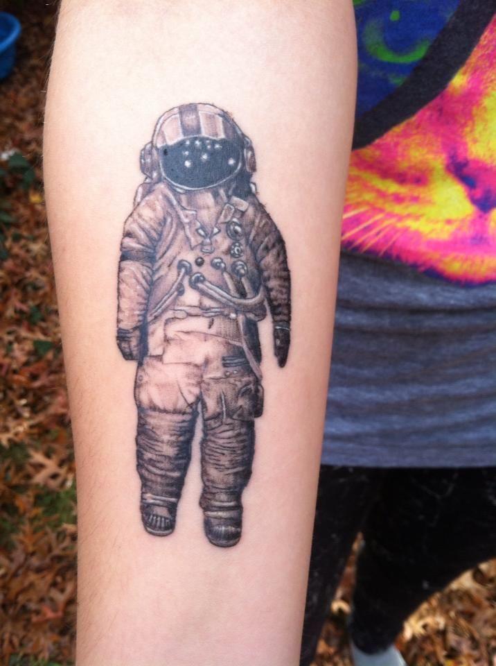 dog astronaut tattoo - photo #34
