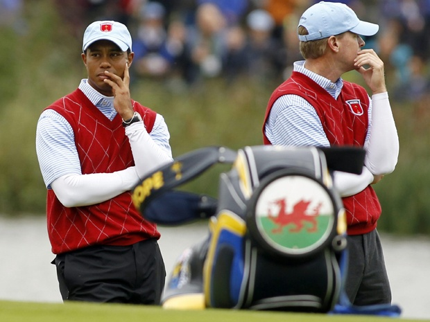 Americans making most of Ryder Cup course