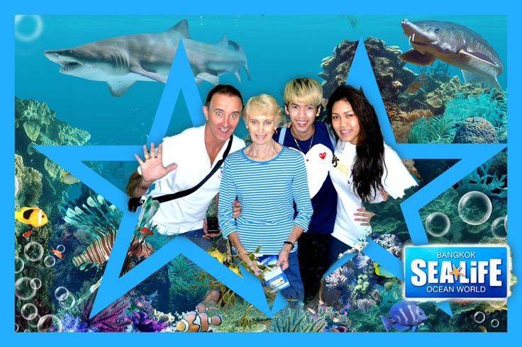 Sealife world is down under Siam Largest aquarium in Asia.  Half day your with choice of activities