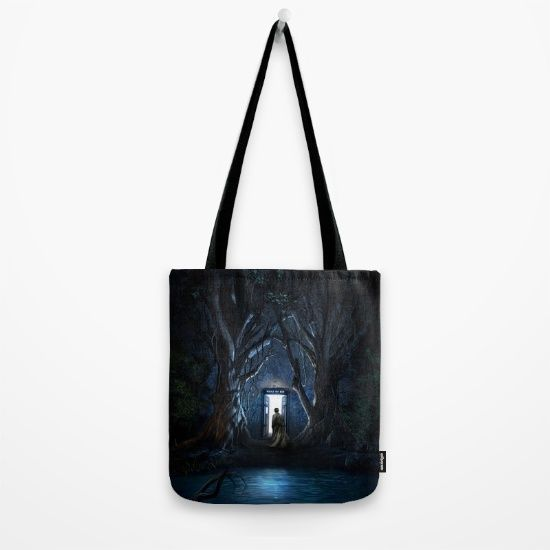 Doors Of Tardis Tote Bag