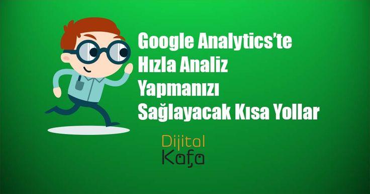 Google Analytics yüzlerce kullanılabilecek özellik var. Bir dijital pazarlama uzmanı olarak Google Analytics üzerinden birçok analiz yaparak, verileri inceleyerek dijital pazarlama stratejileri belirleyebilirsiniz. Konu web analizi olunca hız da önemli bir haline geliyor. Google Analytics üzerinde de hızla analiz yapmanızı sağlayacak bazı kısa yollar bulunuyor. Bunlar: Google Analytics kısa yol menüsünü açma (?) : Google …