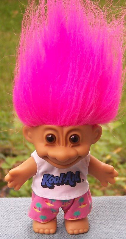 Kool-Aid Advertising Troll Doll with Original Label http://www.rubylane.com/item/494613-troll6-bg3398/Kool-Aid-Advertising-Troll-Doll#.T2TYWUU9pIE.twitter via @rubylanecom