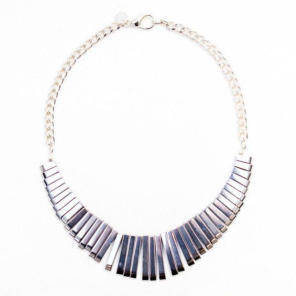 LOUELLA Hematite Necklace By Novella Ria