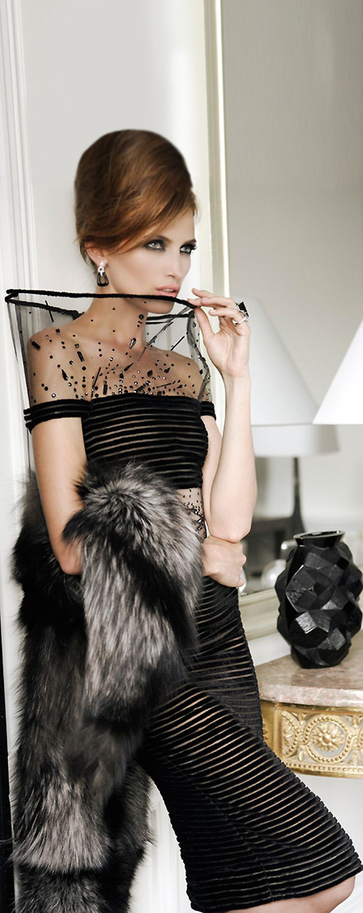 Jean Paul Gaultier Haute Couture F/W 2010-11   photo Mario Sierra