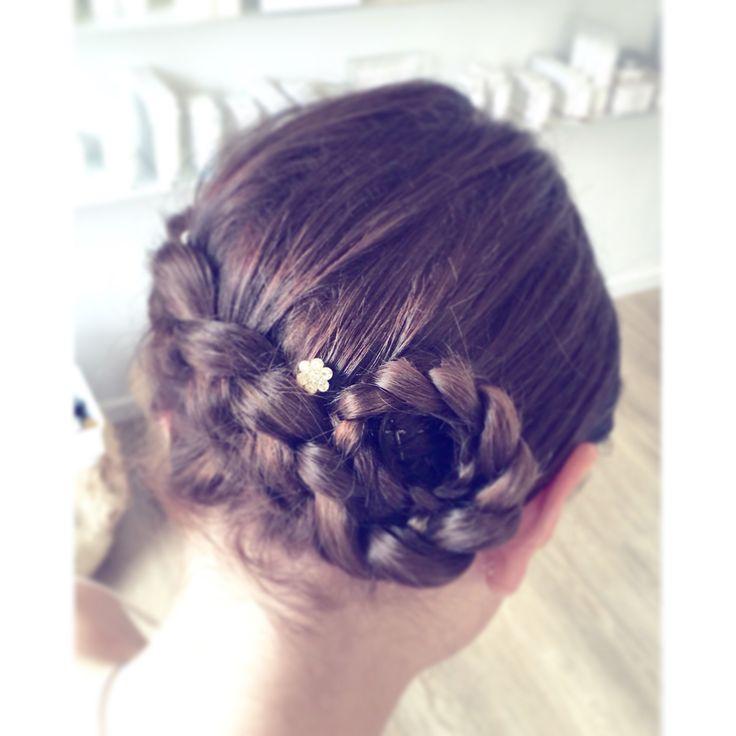 Girls braids  Konfirmationshår