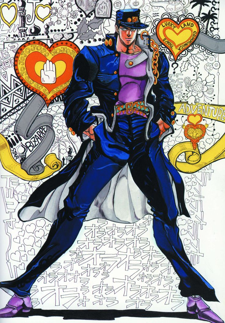 Anime Characters Everyone Knows : Best jojo s bizarre adventure artwork images on