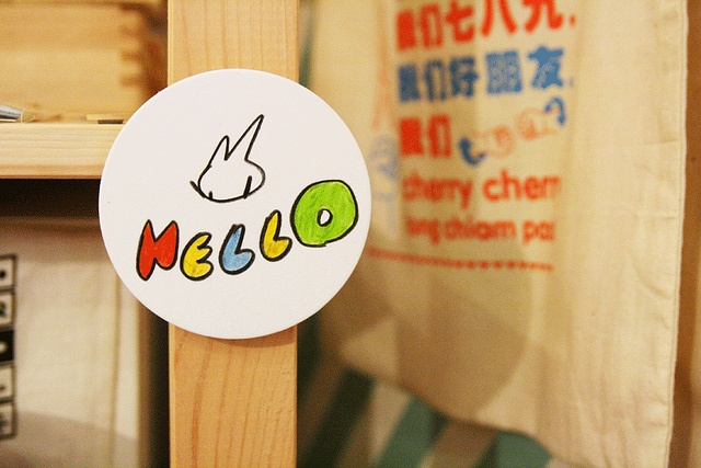 "Yusuke Shimura ""Hello Mello"" guerrilla style.   Hello Mello by Yusuke Shimura  8 September – 23 October  at the little dröm store  7 Ann Siang Hill  Singapore 069 791: Photo"
