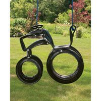 Tractor Tire Ride'N Tire Swing — Ready to Hang, Ready for Adventure