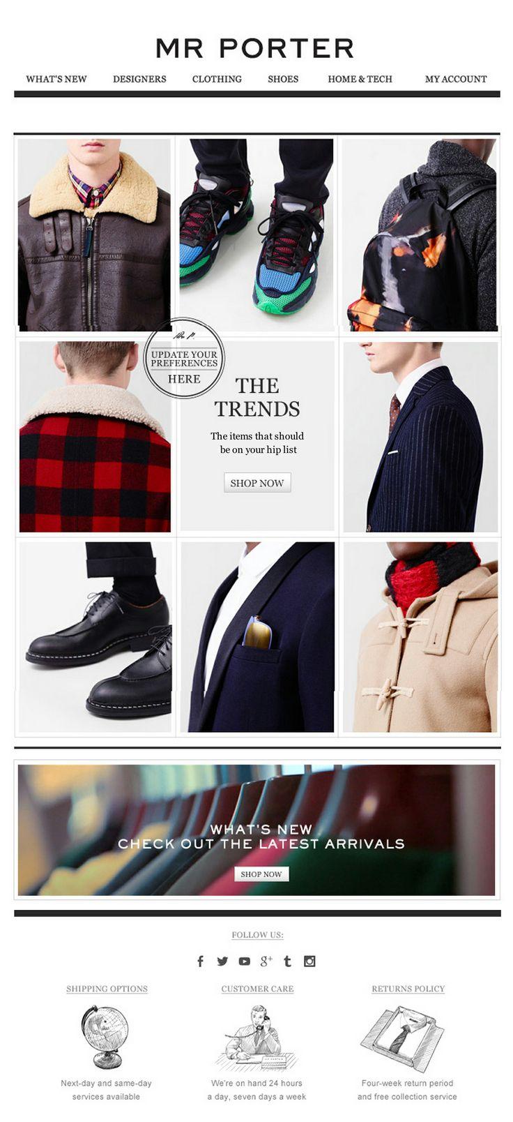 MR Porter - Trend