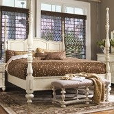 Savannah Four Poster Bed in Linen