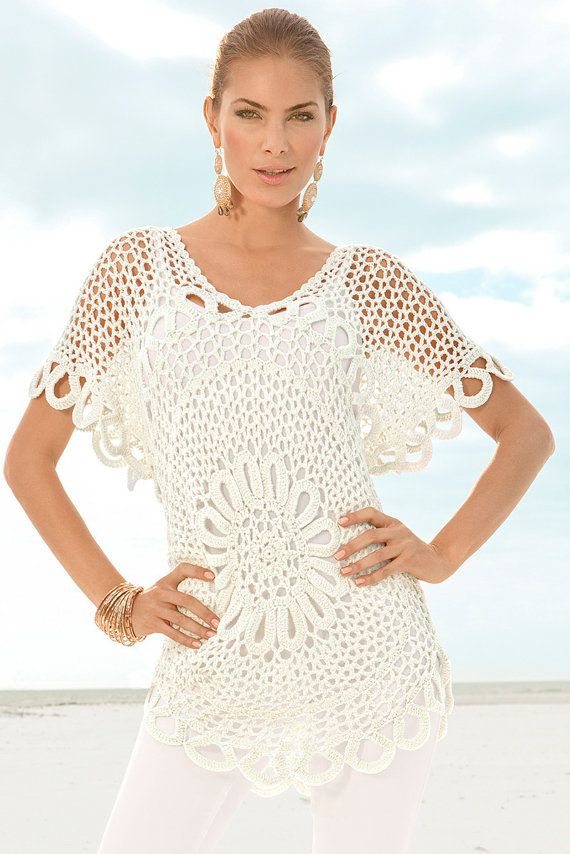 CROCHET FASHION TRENDS exclusive crochet blouse - made to order