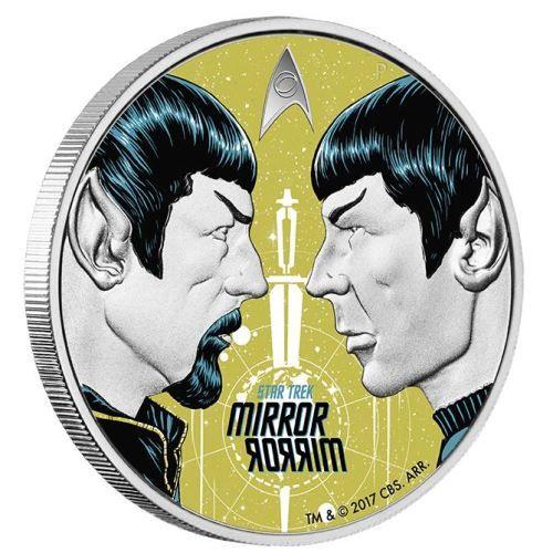 Buy Now: http://goccf.com/pm/star-trek-the-original-series-mirror-mirror-2017-1oz-silver-proof-coin  Perth Mint New Release: Star Trek: The Original Series - Mirror, Mirror 2017 1oz Silver Proof Coin - Coin Community Forum