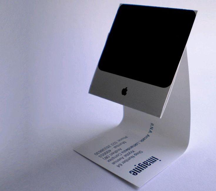 apple India : iMac Business Card
