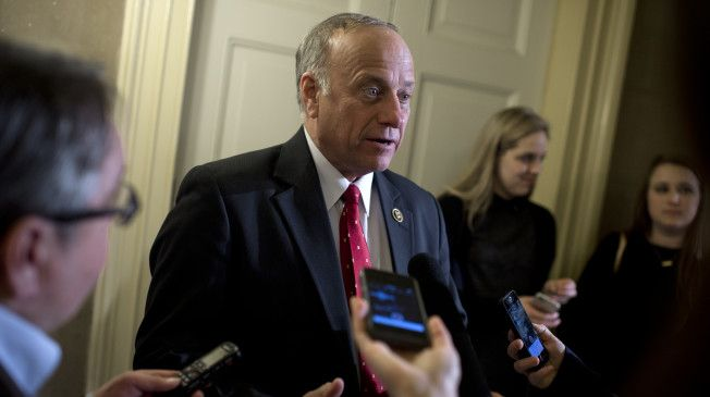 "Rep. Steve King (R-IA) said Wednesday that he would be ""happy"" with South Carolina Gov. Nikki Haley's (R) being the figurehead of the Republican Party because ""she's beautiful."""