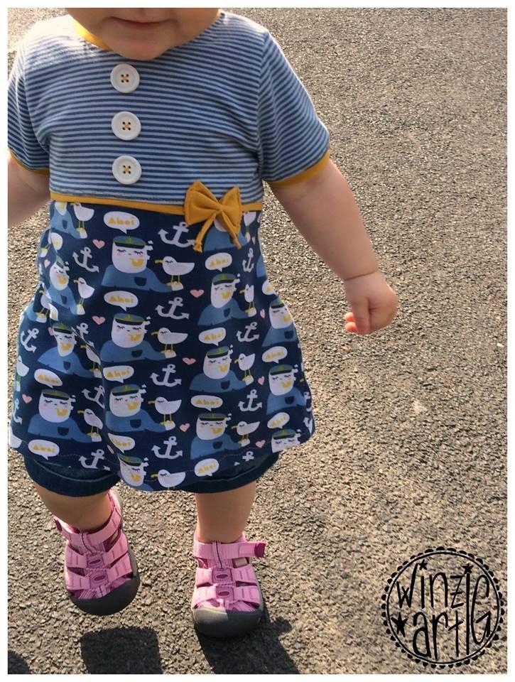 free pattern - Freebook Quatschkopfkleid von Mamamotz für Kids
