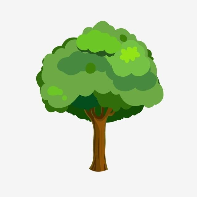 Green Tree Tree Clipart Green Big Tree Png And Vector With Transparent Background For Free Download Cartoon Trees Green Trees Tree Clipart