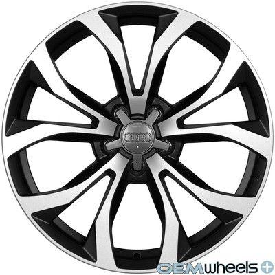 """18"""" Black s Line Style Wheels Fits Audi A6 S6 RS6 A7 S7 C4 C5 C6 C7 Quattro Rims   eBay"""