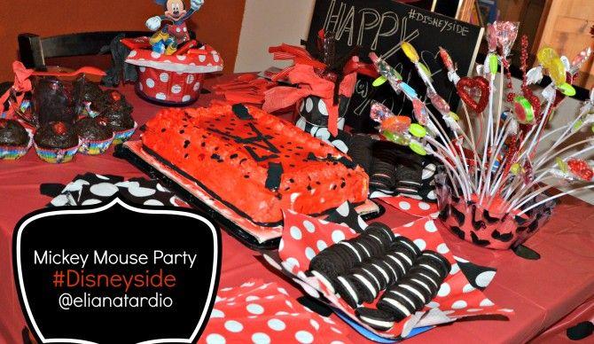 Mesa de Cumpleaños Mickey Mouse