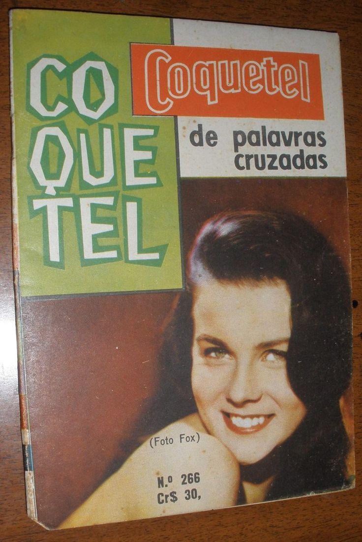 Revista Coquetel Cruzadas Jogos Anos 60 Não Preenchida Rara - R$ 25,00 no MercadoLivre