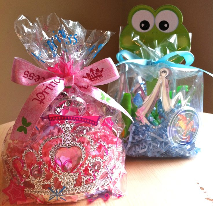 Prince and Princess favors - make two when we go to Disney to surprise the girls?