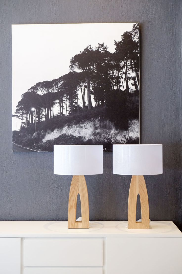Antwerp Lamps  and Huey Tilley print