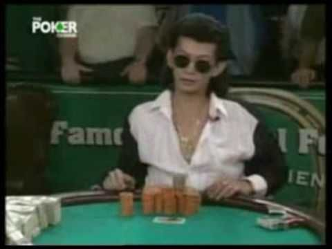 Scotty Nguyen wins the 1998 WSOP Main Event!    You call this one, it's gonna be all over baby!