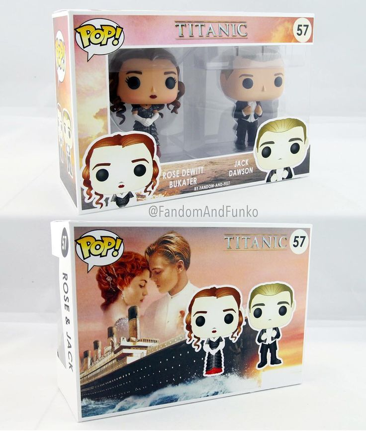 Funko pop- Titanic